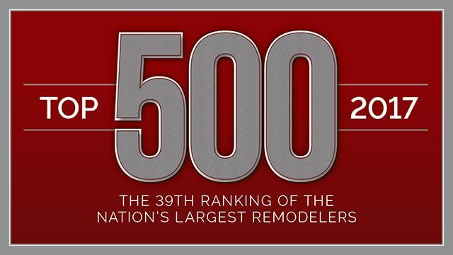 qualified remodeler top 500 2017 award finished basements plus