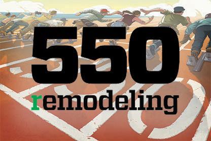 remodeling magazine top 550 magazine award