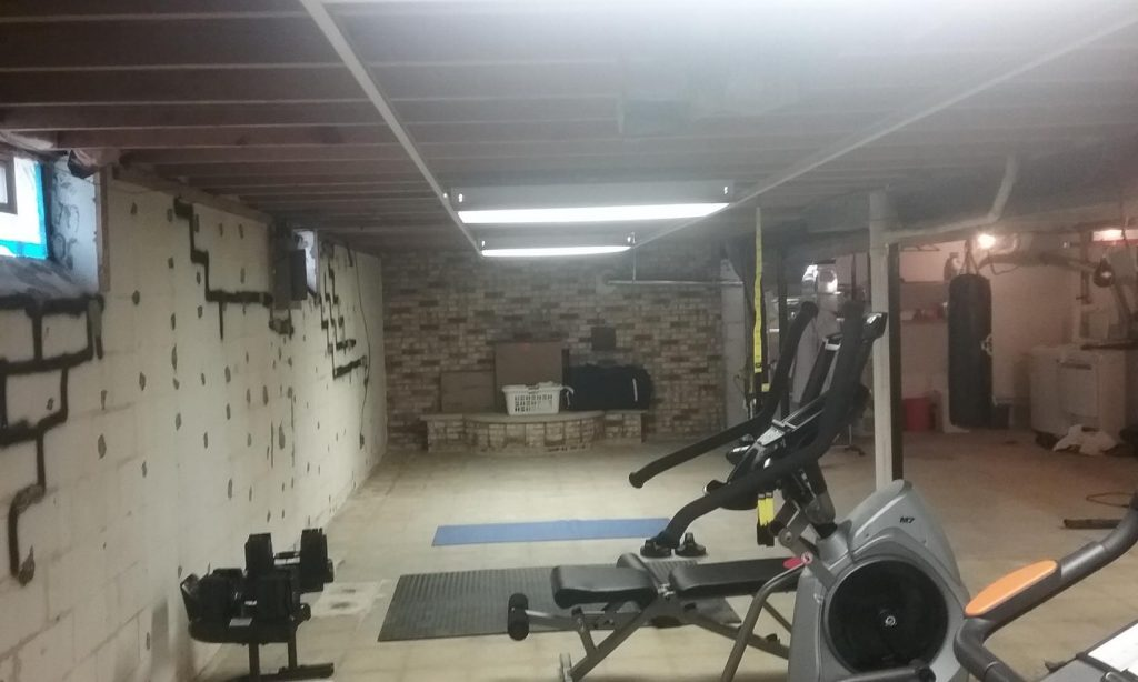 dark scary unfinished basement