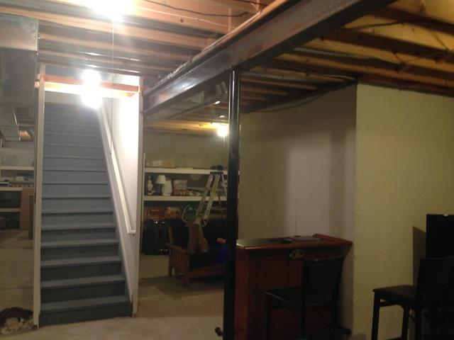 unfinished basement with unused space in the home