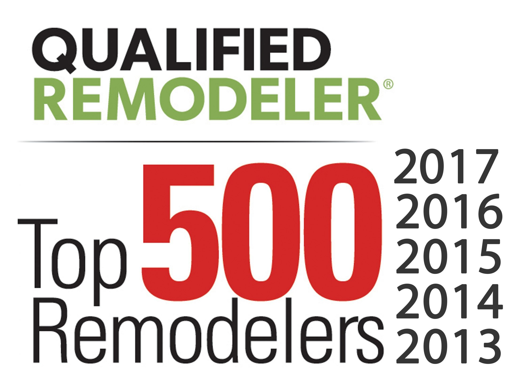 qualified remodeler magazine top 500 last 6 years