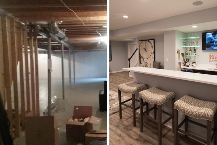 finished basement novi michigan modern design and finishes