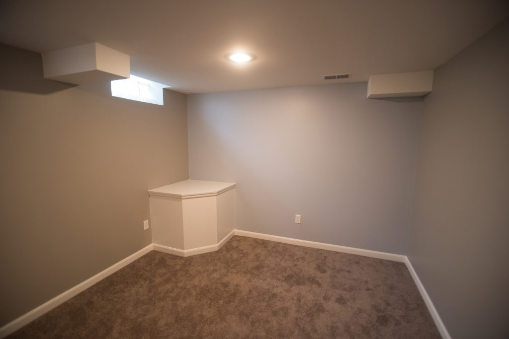 sump cover for basement bedroom