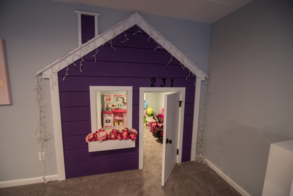 playhouse kids built in underneath staircase