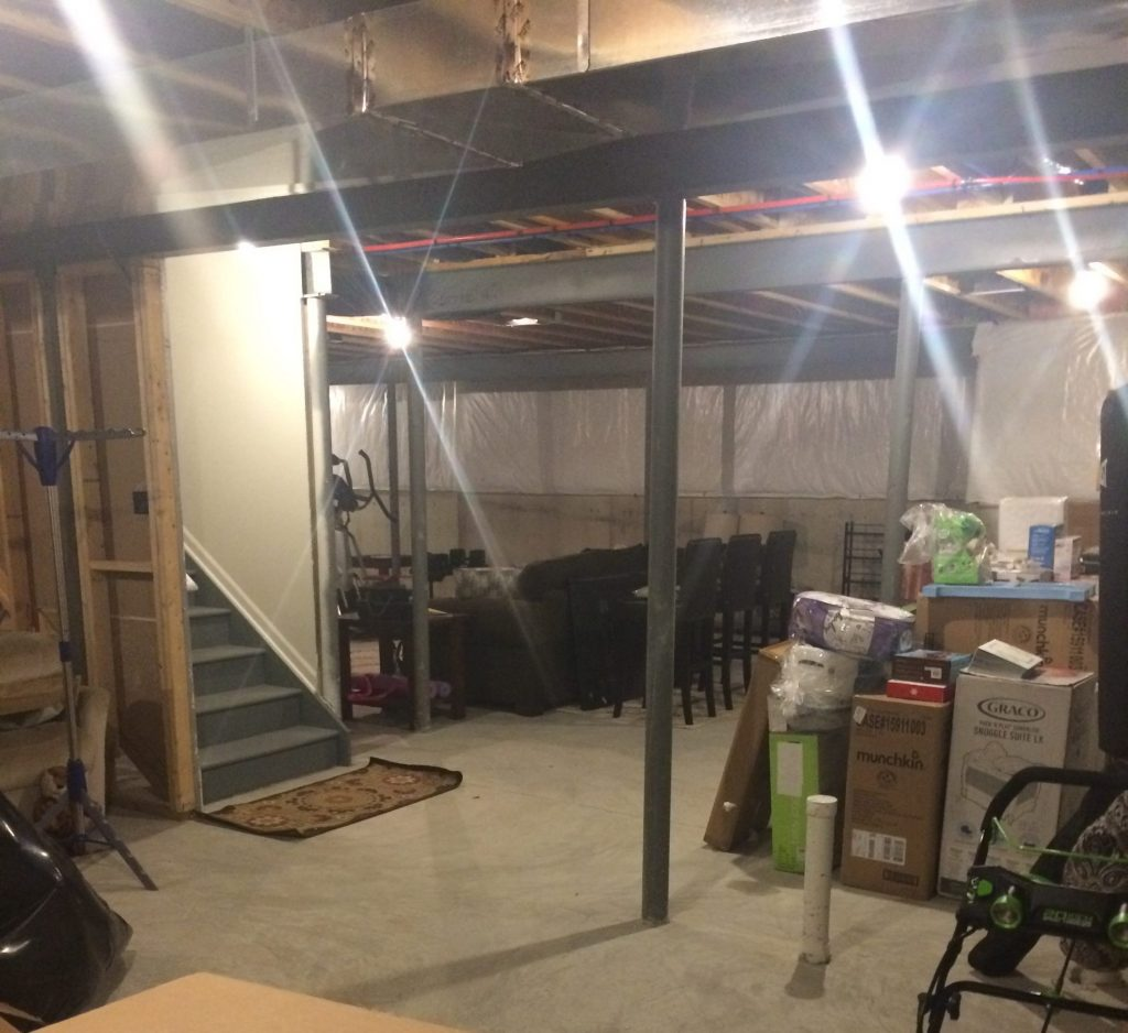 South Lyon, MI Finished Basement With Cozy Design