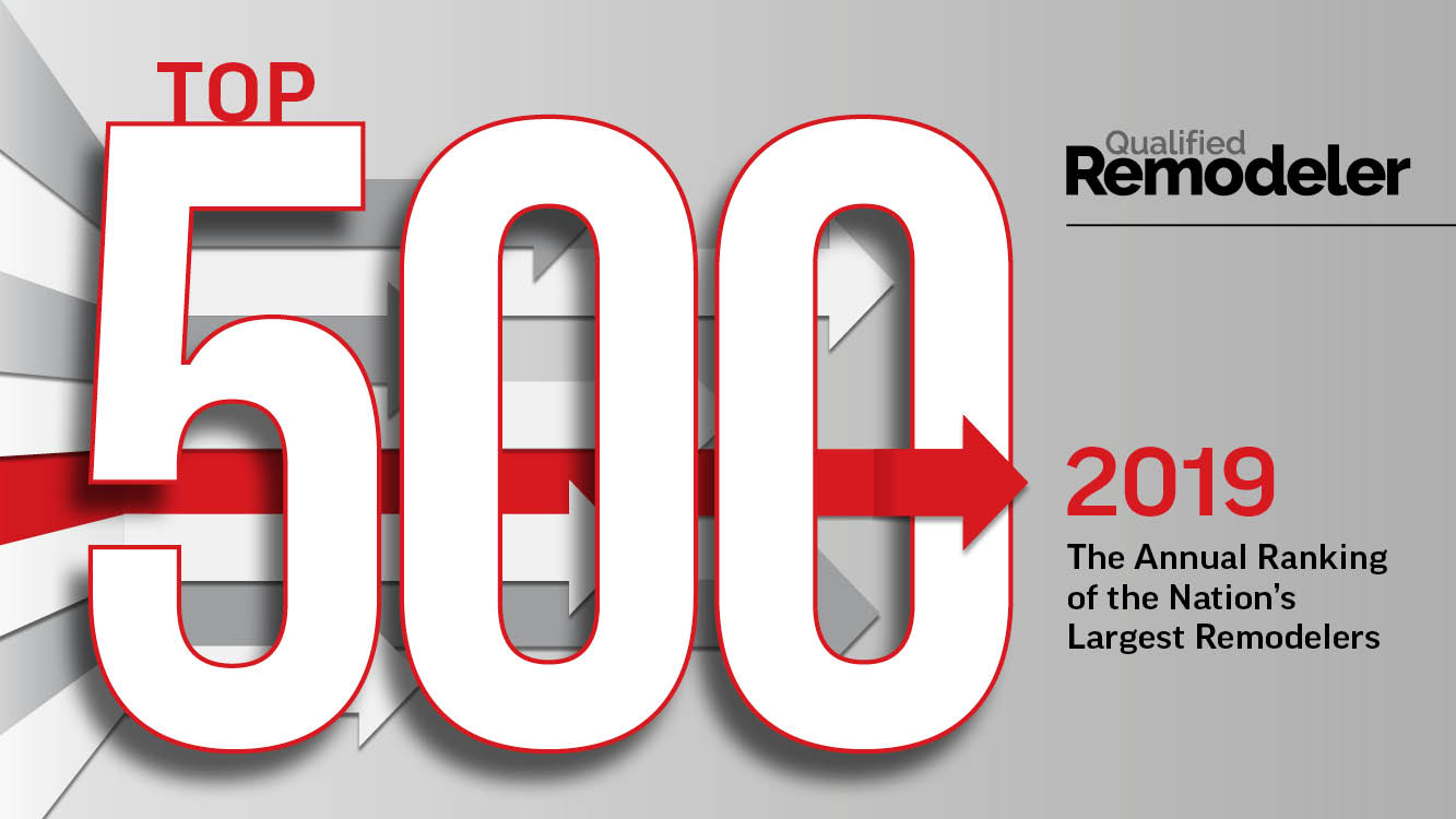 qualified remodeler top 500 for 2019 finished basements plus
