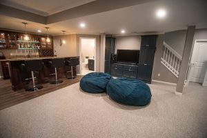 basement finishing play area