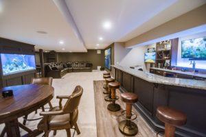 basement flow and floorplan with creative design