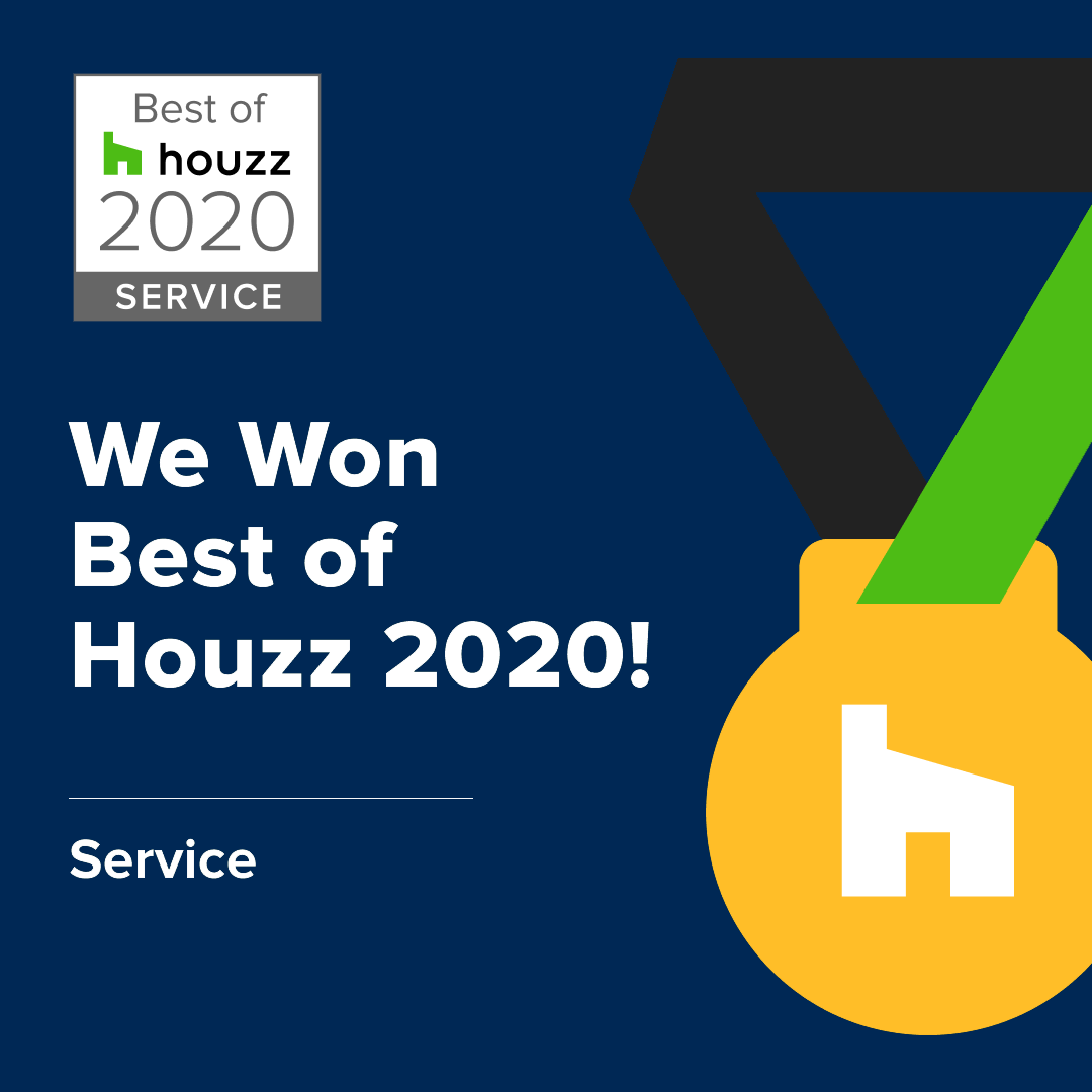 best of houzz award 2020